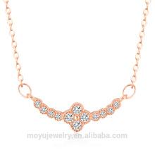 2015 позолоченные драгоценности повезло клевер золотое ожерелье с серьги, браслет на продажу