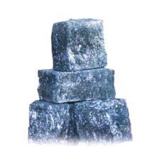 ferrosilion alloy of low calcium