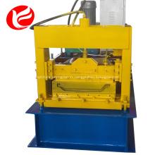 Machine de formage de rouleaux de panneaux métalliques cachés par joint en acier