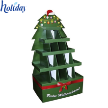 Easy-Assemble Eco-Friendly Shopping Mall Display Stand,Cardboard Shopping Mall Cookies Display Stand