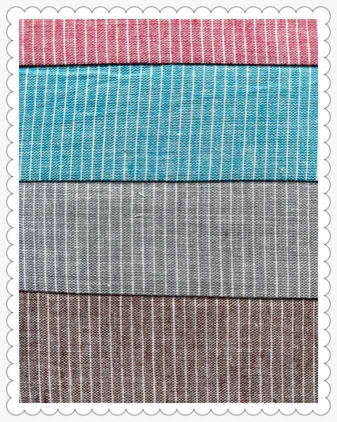 Pinstripe Color Matching Fabric