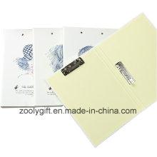 Papel de Impressão A4 Pasta de Arquivo de Clip Duplo