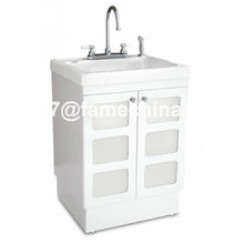 2013 hot design white laundry cabinet