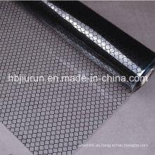 Cortina antiestática transparente de las tiras del PVC de la rejilla