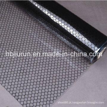 Cortina antiestática transparente das tiras do PVC da grade