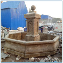 Home Decoration Antique Stone Fountain For sale