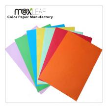 225GSM A4 Tamanho Color Papel em papelão