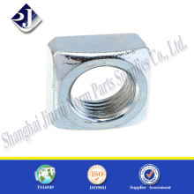 Manufacturer in China carbon steel zinc plated square nut