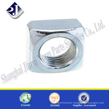 China Quality carbon steel zinc plated square nut