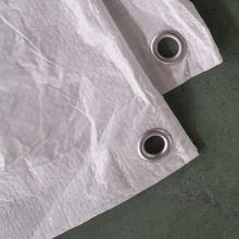 White PE Tarpaulin Machinery Cover