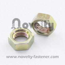 DIN431 Zinc plated hex thin nut
