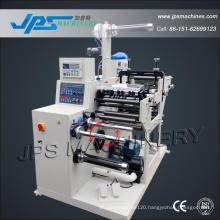 Adhesive Label Slitting Machine with Turret Rewinder (optional: die cutting machine station)
