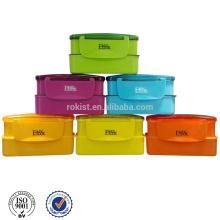 caja de almuerzo de PP de calidad alimentaria para niños y regalo de navidad