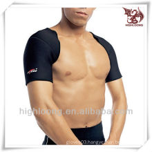 Universal Waterproof Durable Neoprene Black Double-Shoulder Support for Exercises