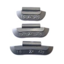 Zinc Clip-on Balance Weight for Steel Wheel (Ounce unit)