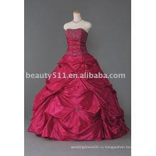 2017 на заказ роскошные бисероплетение блестками Кристалл оборками бальное платье quinceanera платье WDAH0285