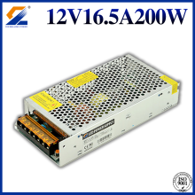 12V 16.7A 200W converter voor LED Strip