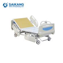 SK002-4 médical électrique multifonctionnel réglable cinq fonctions lit d'hôpital