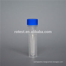 Chemical lab supplies 0.5ml cryo tube