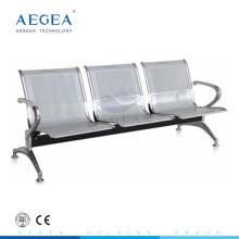 AG-TWC001 öffentlichen Flughafen Krankenhaus Stahl 3 Sitzer warten Stuhl