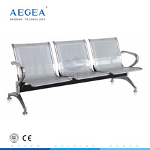 AG-TWC001 stainless steel 3-seat hospital waiting room chairs supplier