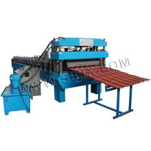 Rollo de azulejo de acero 3D que forma la máquina