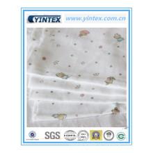 Venda quente 100% tecido de algodão para o bebê