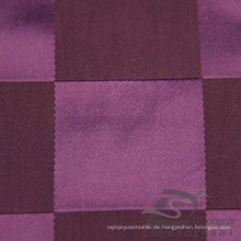 Wasser & Wind-Resistant Daunenjacke Woven Dobby Plaid Jacquard 57% Polyester 43% Nylon Blend-Weaving Intertexture Stoff (H012)