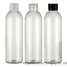 Botella redonda del animal doméstico del claro de la botella del animal doméstico de la alta calidad 250ml