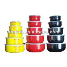 recipiente de almacenamiento de mezcla de esmalte con tapa de PP y diseño fashional