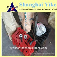 Bras de marteau pour concasseur kumbee, garniture de garniture, plaque d'impact, boulons