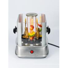 Mini smokeless electric barbecue grill