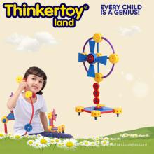 Brinquedos educativos saudáveis de conexão de plástico para crianças