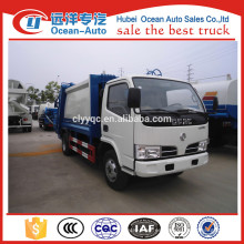 Dongfeng 5m3 China camión de basura