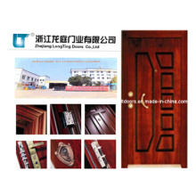 Turkish Style Steel Wooden Armored Door Factory