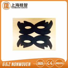 folha preta da máscara de olho do carvão vegetal
