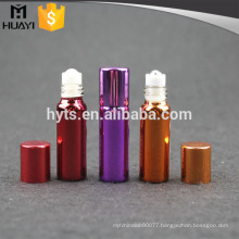 4ml plastic roll on deodorant empty bottle with UV coating