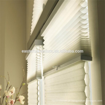 2018 novo design blackout tecido favo de mel janela persianas