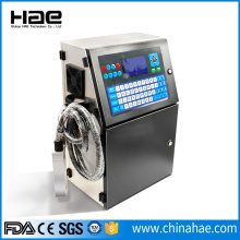 Glass PET Jar CIJ Industrial Inkjet Printing Machine