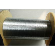 0.28mm-0.5mm 11gauge caliente sumergido hilo de acero galvanizado
