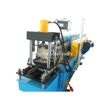 Rolling Shutter Bottom Forming Machine