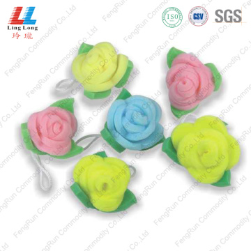 Delicate Flower Nylon Bath Sponge