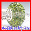 2011 Hot European Sterling Silver Core Crystal Glass Jewelry Beads For European Chamilia Bracelet Jewelry