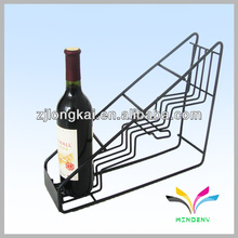 Holders wire classical sturdy welded triangle metal wine rack