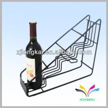 Держатели провода классической прочной Сварной треугольник металл винный шкаф