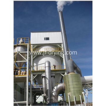 High speed centrifugal spray drying machine