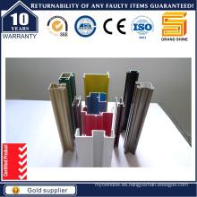 Perfil de Extrusión de Aluminio Serie 6063