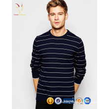 Men Striped Cashmere Wool Pullover Sweater Design