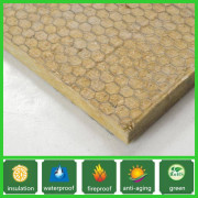rock wool/rock wool insulation mat with wire mesh