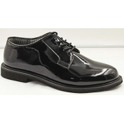 Glazed leather military Officer dress fashion business shoes